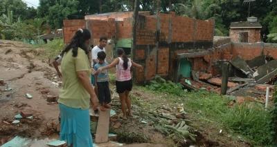 Codesal registra desabamento de imóvel e deslizamentos em Salvador