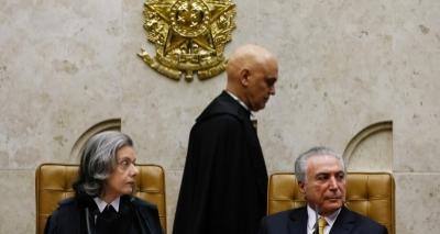 Temer relatou que dois ministros ajudam Cunha no STF, diz Joesley