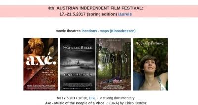 Axé - Canto de Um Povo de Um Lugar ganha prêmio em festival na Áustria
