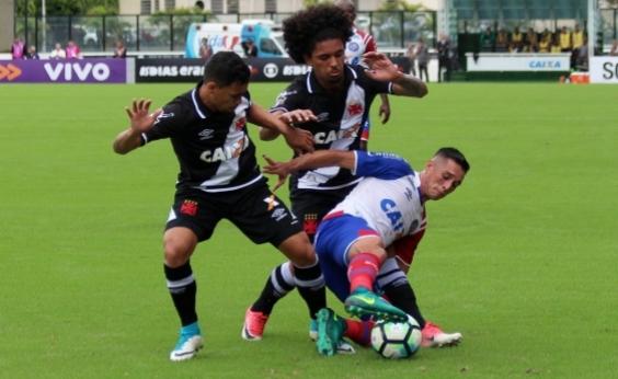 Com gols no segundo tempo, Bahia perde para o Vasco fora de casa pro 2 a 1