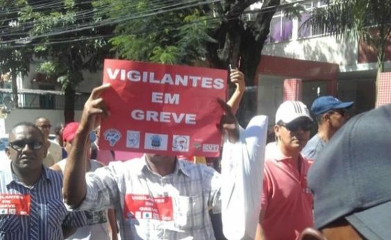 Seguranças e vigilantes entram em greve nesta quarta-feira