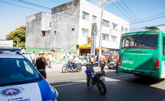 Passageiro é morto após assalto a ônibus no Aquidabã