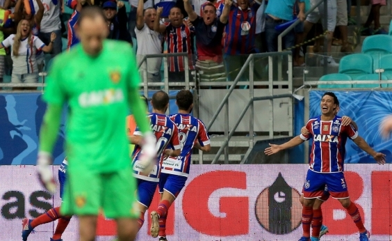 Bahia bate o Sport na Fonte Nova e é tri-campeão da Copa do Nordeste