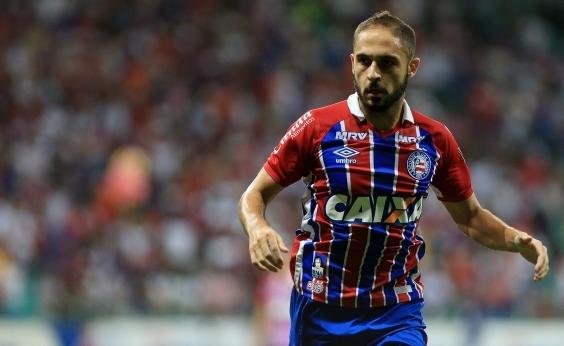 Régis diz que quer cumprir contrato e ficar no Bahia até o fim do ano