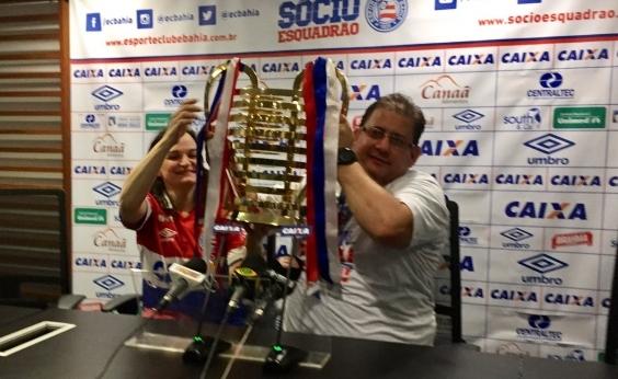 Guto comemora título da Copa do Nordeste: Indescritível