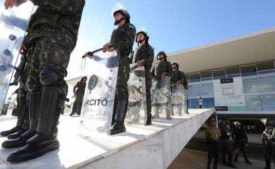 Decreto presidencial convocou 1,5 mil militares para conter manifestações em Brasília