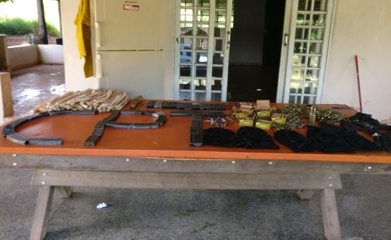 Integrantes de quadrilha que roubava mineradoras e bancos são presos