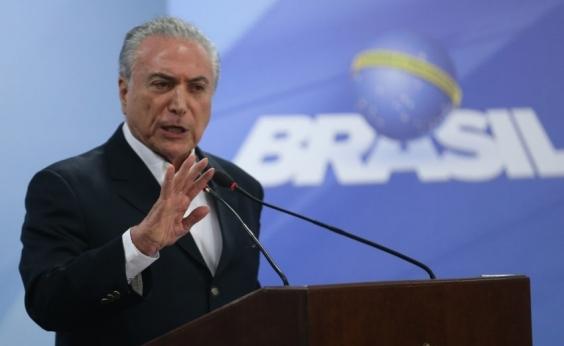 Para Temer, o Brasil não parou e manifestações ocorreram com exageros; veja vídeo