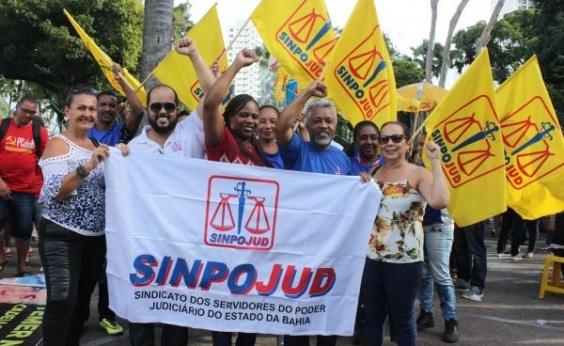 Servidores do Judiciário decidem nova paralisação após mobilização desta quinta