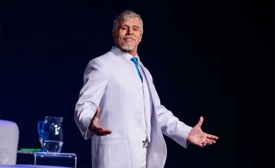 Miguel Falabella apresenta espetáculo GOD no TCA neste sábado; veja