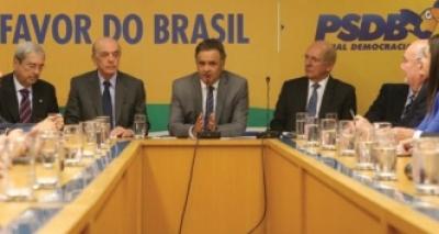 Resultado de imagem para PSDB se reúne nesta segunda para discutir permanência no governo Temer