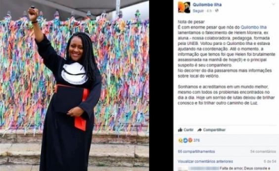 Suspeito de matar a companheira a facadas em Vera Cruz se entrega à polícia