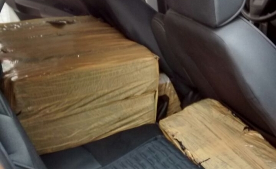 Homens são presos transportando 94 kg de maconha em Feira de Santana