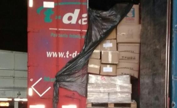Polícia recupera carga roubada na BR-101 avaliada em R$ 420 mil