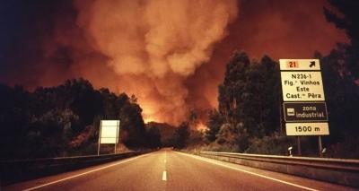 Incêndio florestal deixa 62 mortos e 54 feridos em Portugal