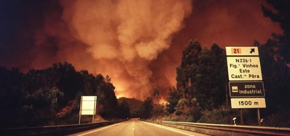 [Incêndio florestal deixa 62 mortos e 54 feridos em Portugal]