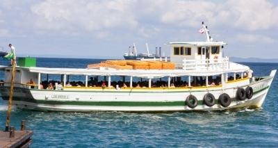 Com movimento tranquilo, travessia Salvador-Mar Grande tem saídas a cada 30 minutos