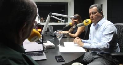 'Fábrica de pesquisas falsas', diz Rui sobre suposta liderança de Neto para 2018