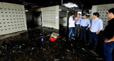 Neto anuncia auxílio-emergência para comerciantes do Mercado de Cajazeiras