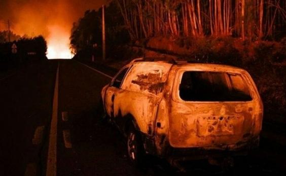 Cai avião que atuava em combate a incêndio em Portugal