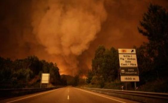 Chefe dos bombeiros diz que Incêndio em Portugal teve mão criminosa