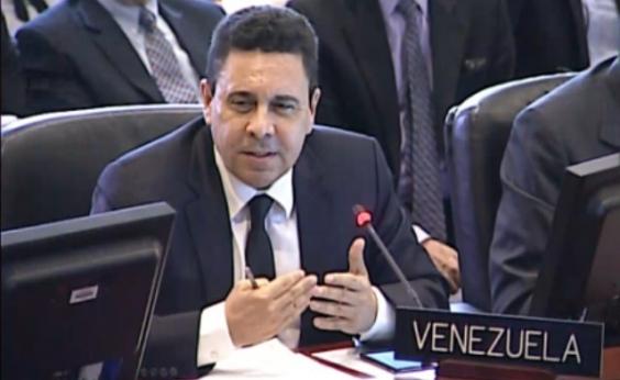 Samuel Moncada é nomeado novo chanceler da Venezuela