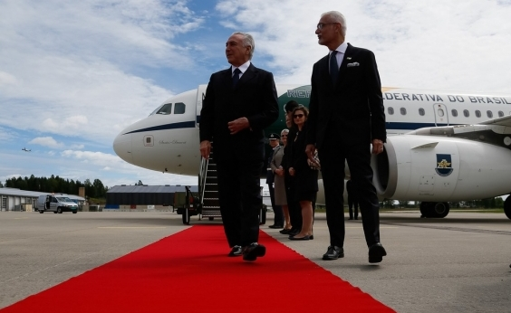 Na Noruega, Temer diz que Brasil  está deixando para trás uma severa crise