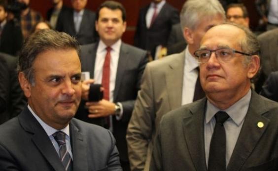 Gilmar Mendes é sorteado como relator de um dos inquéritos para investigar Aécio