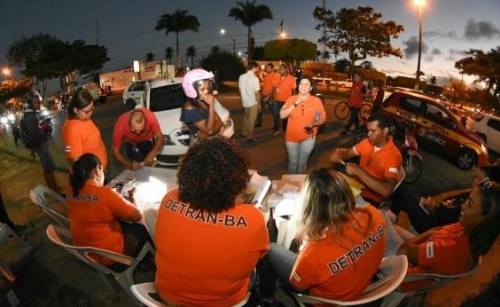 Detran emite quase 2700 notificações na Operação São João