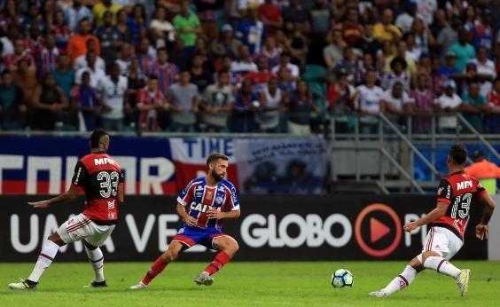 Bahia perde para o Flamengo por 1 a 0 e entra na zona de rebaixamento