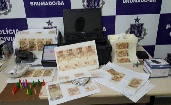 Suspeito é preso com cédulas falsas no município de Brumado