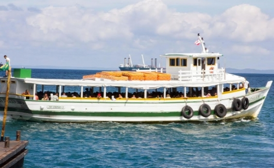 Maré baixa volta a suspender travessia Salvador-Mar Grande; serviço deve ser retomado às 13h