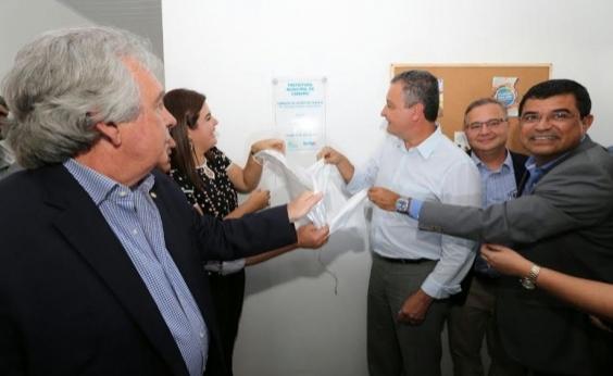 Em Camamu, Rui entrega duas unidades de saúde; investimento foi de R$ 265 mil