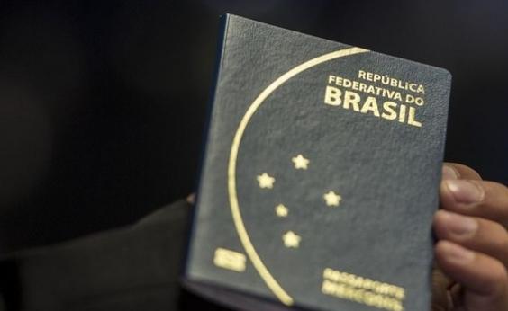 Emissão de passaportes é suspensa por tempo indeterminado pela PF