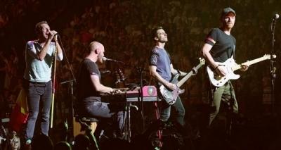 Coldplay faz shows no Brasil em novembro