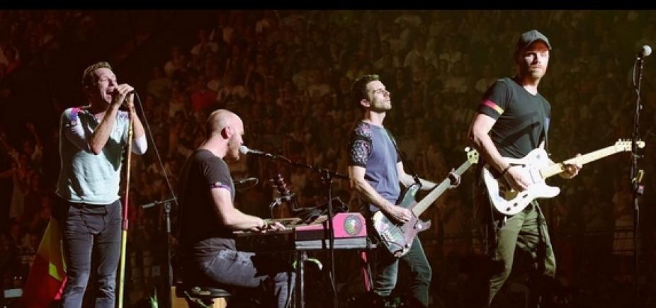 [Coldplay faz shows no Brasil em novembro]