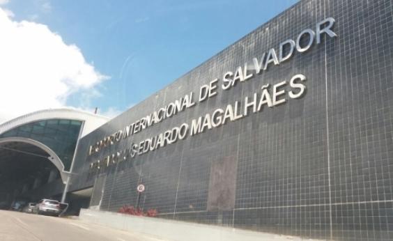 Quatro pessoas são presas no aeroporto de Salvador transportando mais de 30 quilos de maconha