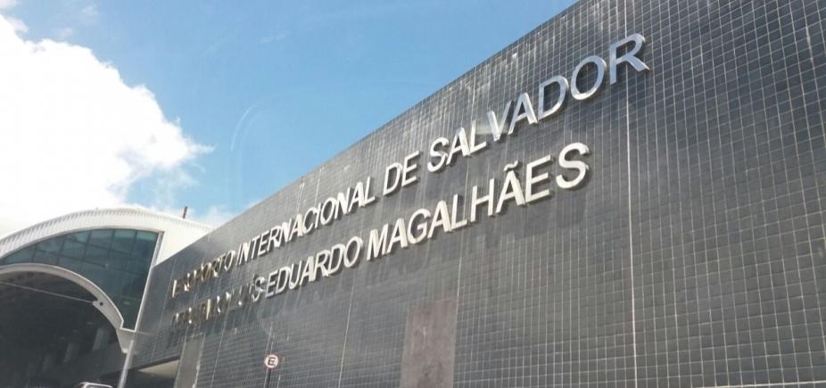 [Quatro pessoas são presas no aeroporto de Salvador transportando mais de 30 quilos de maconha]