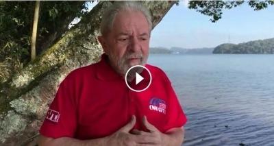 Em vídeo, Lula afirma que o atual governo 'não representa nada' e exalta sua atuação presidencial