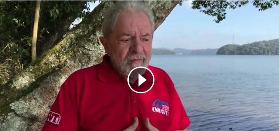 [Em vídeo, Lula afirma que o atual governo \'não representa nada\' e exalta sua atuação presidencial]