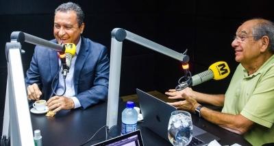 MK entrevista Rui Costa direto do Palácio de Ondina nesta segunda; assista pelo Facebook