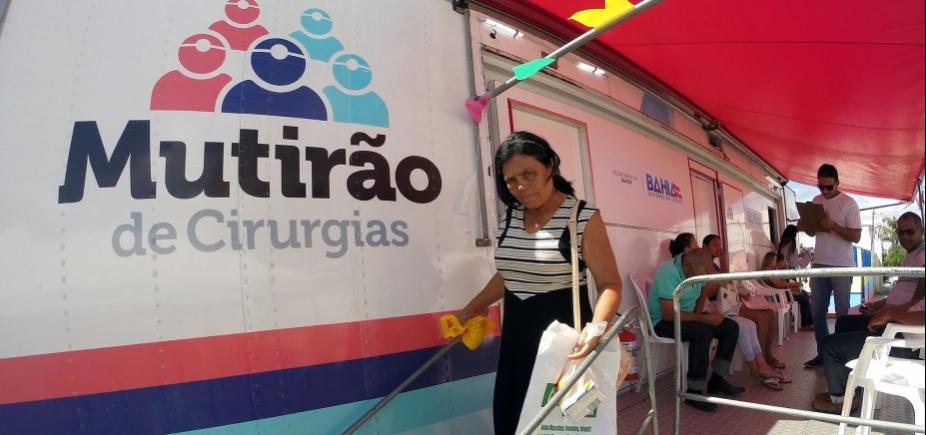 [Falta de postos de saúde em Salvador infla mutirões do governo, diz Rui]