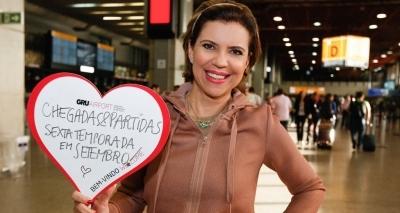 """'Chegadas e Partidas"""", de Astrid Fontenelle, vai voltar ao ar no GNT em 2018"""