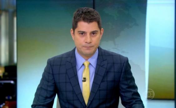 Apresentador do Jornal Hoje há 13 anos, Evaristo Costa decide sair da Globo