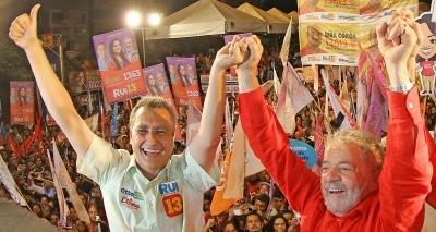Lula diz que três governadores do PT podem ser candidatos à presidência; Rui estaria entre favoritos