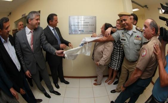 Rui entrega Distrito de Segurança Pública e Centro Integrado de Comunicação em Barreiras