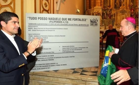 Igreja de SantAna é reaberta após 11 anos de restauração em Nazaré