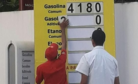Após aumento de impostos, gasolina chega a custar R$ 4,19 em Salvador