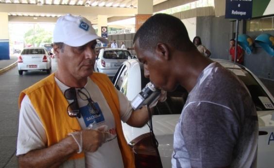 Lei Seca: mais de 2,8 mil motoristas foram autuados neste ano por dirigirem alcoolizados em Salvador