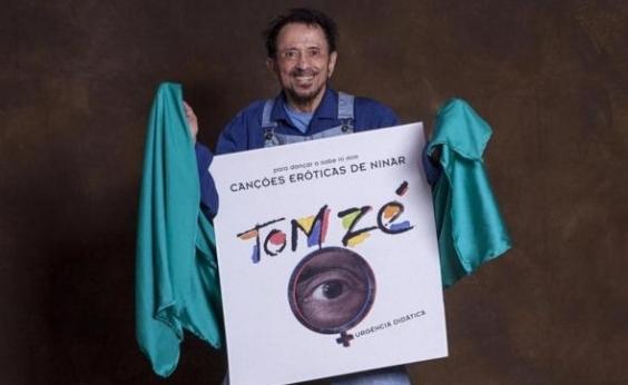Tom Zé conta que celebrou como criança o 28º Prêmio da Música Brasileira